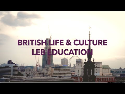 British Life & Culture | LEB Education