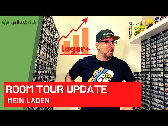 Room Tour Update - Was geht ab in meinem 34qm LEGO Laden?