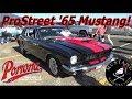 1965 Mustang for sale Prostreet 500 plus HP 418 Stroker Windsor 6 speed! Pomona Swap Meet