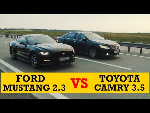MUSTANG vs TOYOTA. Обзор Ford Mustang EcoBoost.