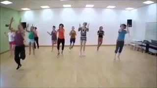 ХУДЕЕМ Зумба  танец для похудения ФИТНЕС ДЛЯ ПОХУДЕНЯ
