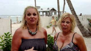 THE happiest - Key West beach -  gals -  lori donna!