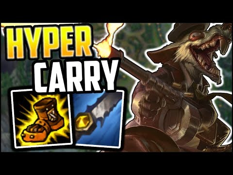 Hyper Carry Mobility Twitch Jungle - Twitch Jungle Commentary - League of Legends thumbnail