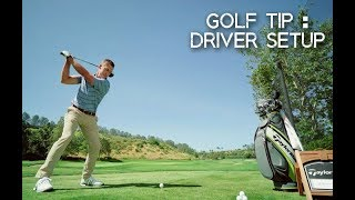 GOLF LESSON: HOW TO HIT THE DRIVER