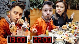 100.000 KALORİ YEME CHALLENGE (24 SAAT)