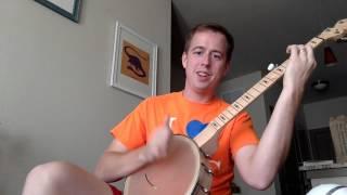 Bron-Y-Aur Stomp clawhammer banjo tutorial