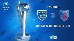 14e journée : Villefranche - Concarneau I National FFF 2019-2020