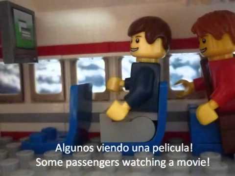 A LEGO FLIGHT - UN VUELO EN LEGO