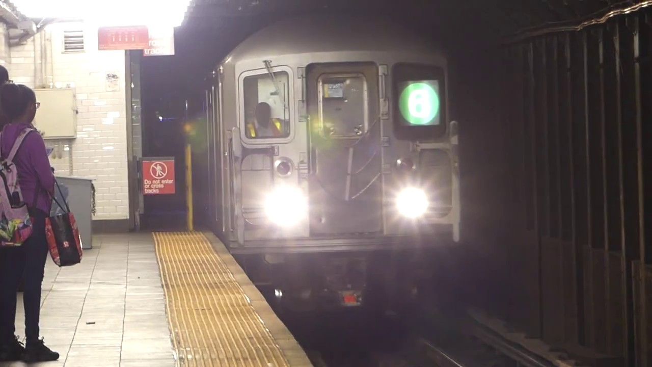 Irt Lexington Ave Line R142a 4 R142 5 R62a 6 Trains At 103rd St