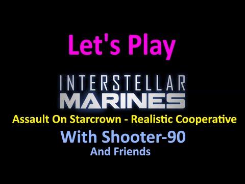 Let's Play Interstellar Marines [Assault on Starcrown Realistic - Co-op] - Backdoor
