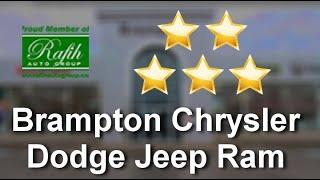 Brampton Chrysler Dodge Jeep Ram BramptonRemarkable5 Star Review by Kerry Fyfe