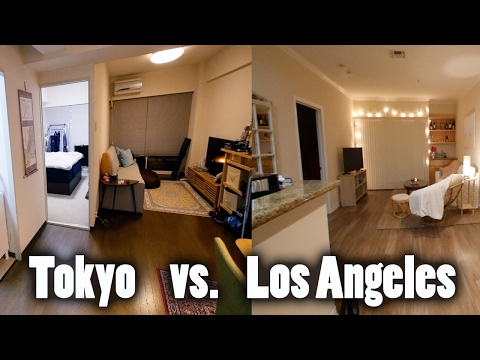 $3,000 A MONTH TOKYO APARTMENT VS LOS ANGELES APARTMENT