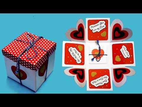DIY Love Box !! LOVE Greeting Card || DIY Paper Crafts || Valentine's Day Gift Idea