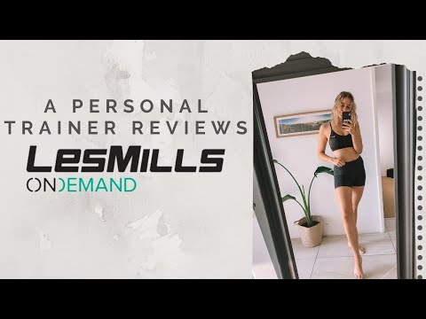 ep 1: A Personal Trainer Reviews Les Mills on Demand | At Home Workout Subscription Service