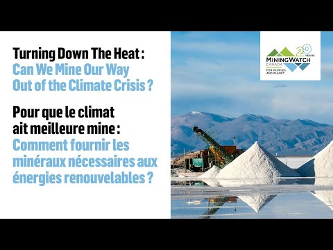 """Download Virtual round table: """"Turning Down the Heat: Can We Mine Our Way Out of the Climate Crisis?"""""""