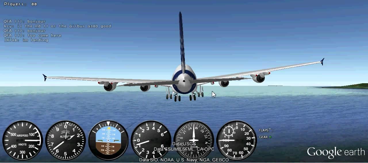 GEFS Online Airbus A380 Crash - YouTube