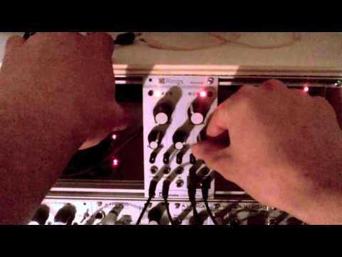 Mutable Instruments Rings Demo