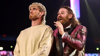 Catch Sami Zayn and Logan Paul's reaction to Zayn's controversial documentary trailer