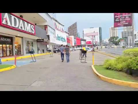 A walk through Panama City, Panama September 06, 2016 5:30PM
