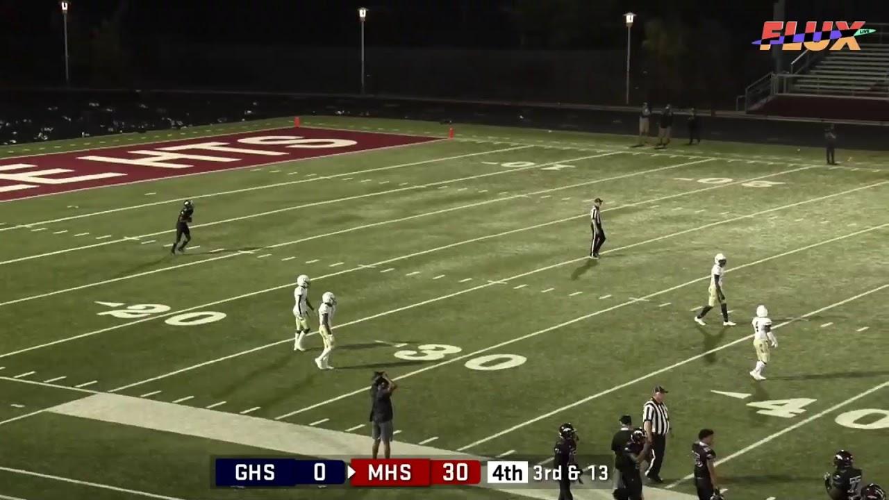 Garfield Heights Bulldogs @ Maple Heights Mustangs 9/25/2020