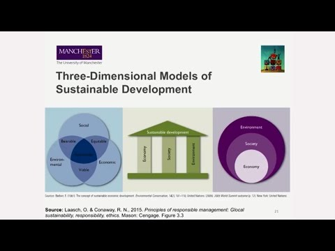 Sustainability Management Lecture (MOOC Managing Responsibly, 8/25)