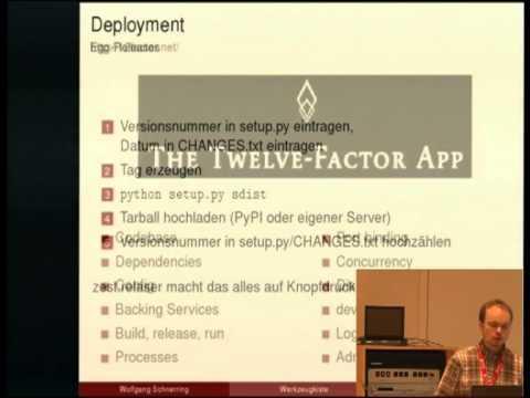 Aus der Werkzeugkiste eines Python/Web-Entwicklers