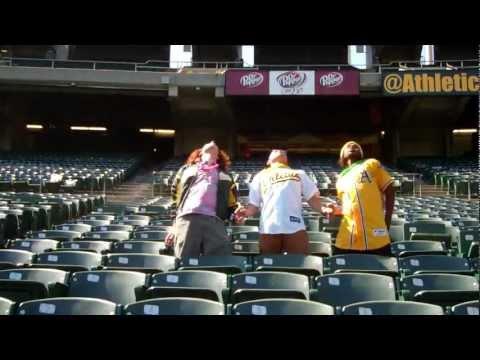 Bernie Lean Oakland A's Athletics (by ATM & IMD) Bernie Dance