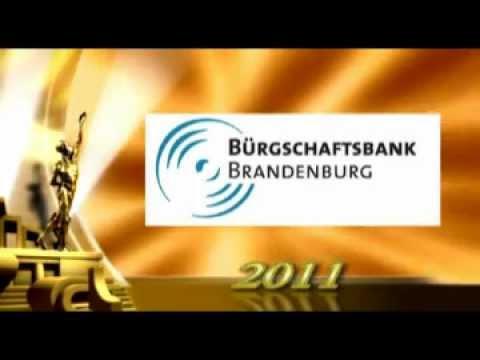 Bürgschaftsbank Brandenburg GmbH ist Bank des Jahres 2011