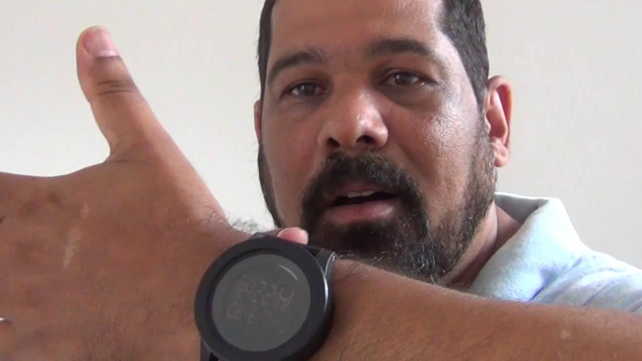 7db78fbe12f relógio Esportivo Masculino Digital Skmei Preto - YouTube