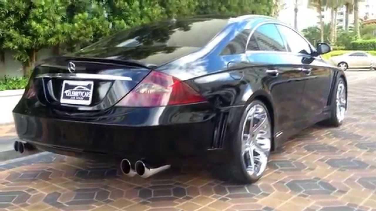 2006 Cls500 Full Custom At Celebrity Cars Las Vegas Youtube