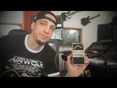 Marshall JCM 800 2203 boosted with Boss GE-7 (Demo)