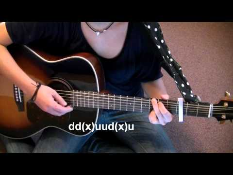 Philipp Poisel - Froh dabei zu sein [guitar tutorial]