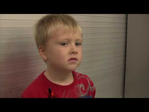 Plaza Towers Elementary School: Kindergartner Coleman Goelz (2013-06-20)