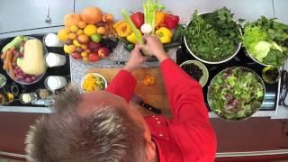 Необыкновенные рецепты Макса Шитова. Гречка с кинзой и болгарским перцем.