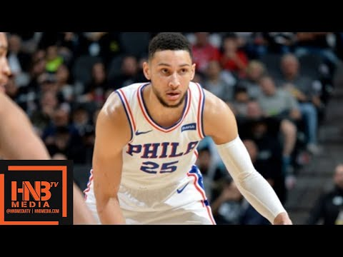 Philadelphia Sixers vs San Antonio Spurs Full Game Highlights / Jan 26 / 2017-18 NBA Season