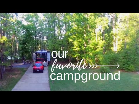 Gunter Hill Campground Montgomery Alabama - Full Time RV