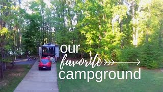 Gunter Hill Campground Montġomery Alabama - Full Time RV