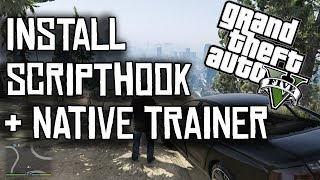 How to install Script Hook V & Native Trainer for GTA 5 PC! (Tutorial)