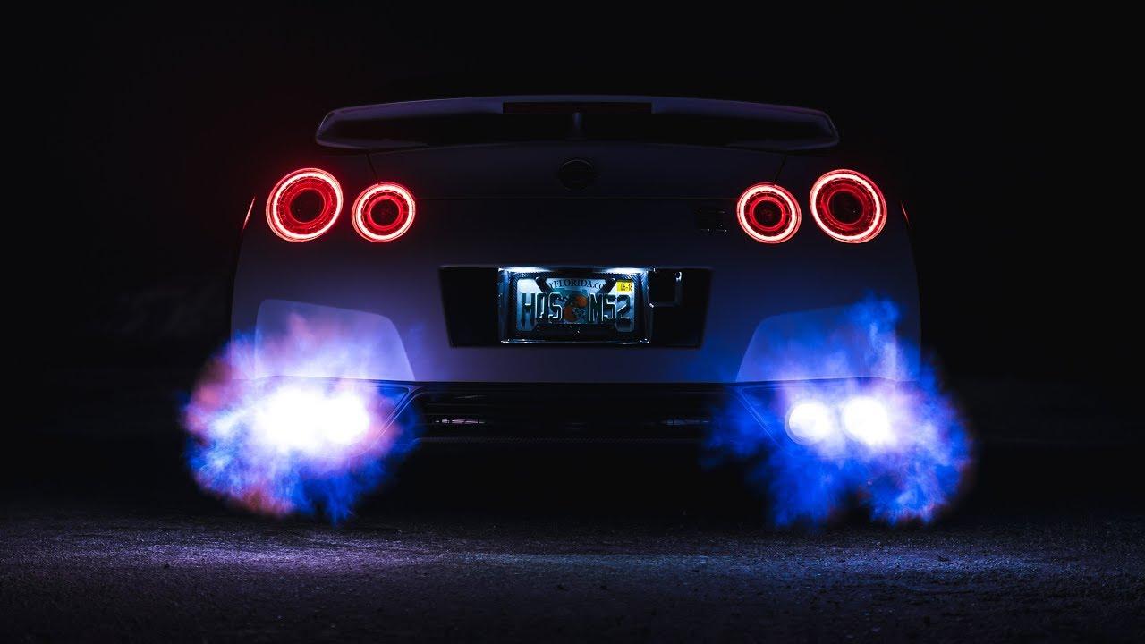White Ghost Flame Spitting Gtr Youtube