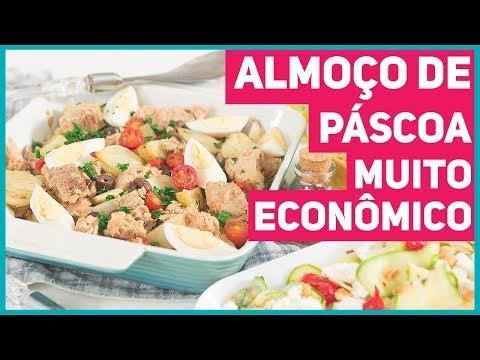 ALMOÇO DE PÁSCOA COMPLETO POR 40 REAIS PARA A FAMÍLIA TODA! | Receitas de Minuto 462