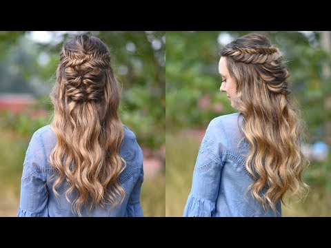 Twisted Fishtail | Holiday Hairstyle | Prom Hairstyle | Cute Girls Hairstyles