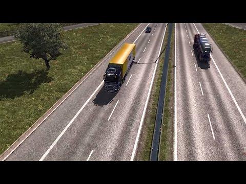 Euro Truck Simulator 2 👨🏻 Graphitfett von Budapest HU nach Dresden DE 🚛 T500RS GT