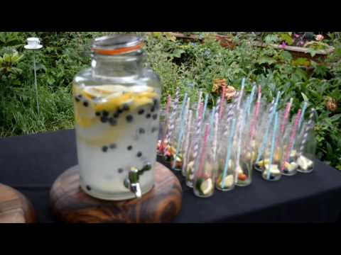 Flame BBQ Homemade cloudy lemonade - Wedding catering to impress. Berkshire London #flamebbq