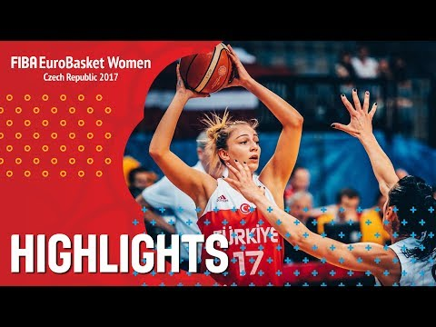 Latvia v Turkey - Highlights - CL 5-6 - FIBA EuroBasket Women 2017