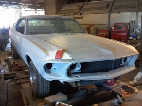 1969 Ford Mustang Restoration Project Part 17 Primer Time