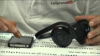 wireless bluetooth stereo headset headphone