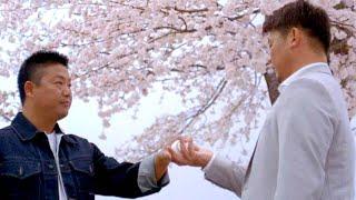 松坂大輔へ村田修一と伊右衛門夫妻がエール/サントリー伊右衛門CM「こころの茶屋 怪物」篇+メイキング