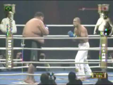Royce Gracie vs Akebono