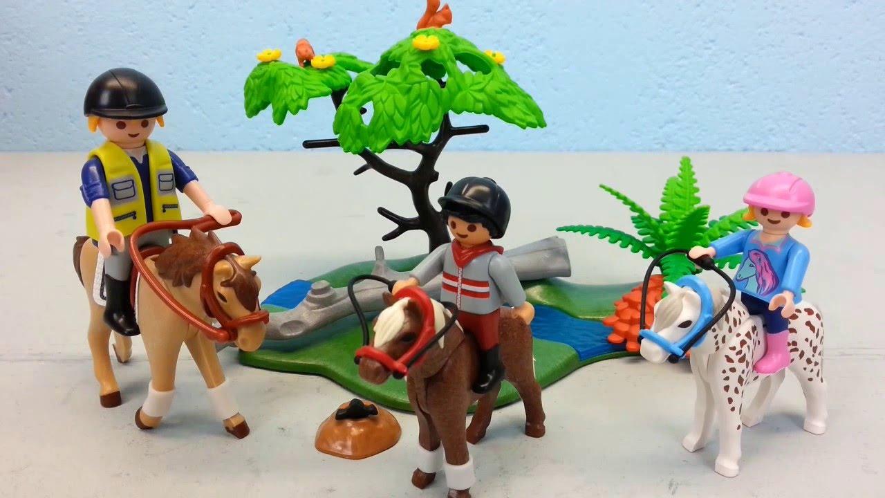 Playmobil fr hlicher ausritt 6947 auspacken seratus1 - Pferde playmobil ...