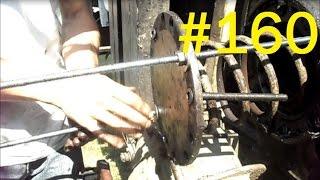 160# Życie zwyczajnego rolnika - Naprawa koła pasowego przy skrzyni biegów w Claas Matador